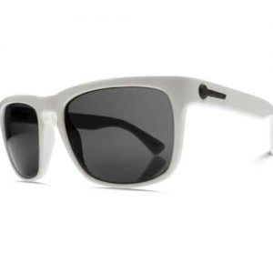 Electric Knoxville gloss white sunglasses