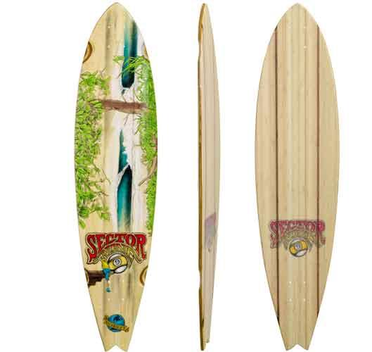 Sector Nine Nica Complete Skate Board