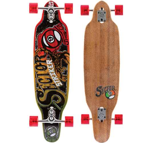 Sector 9 Striker Complete Skate Board