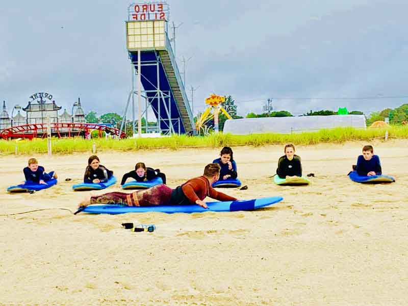 usrf-instructor, FREE Surf Lessons, Old Orchard Beach, Maine